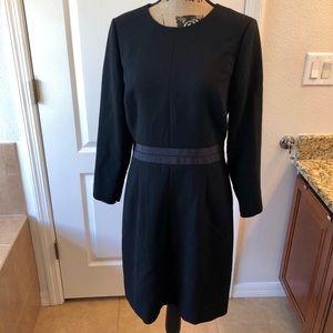 J Crew Black Dress Size 6